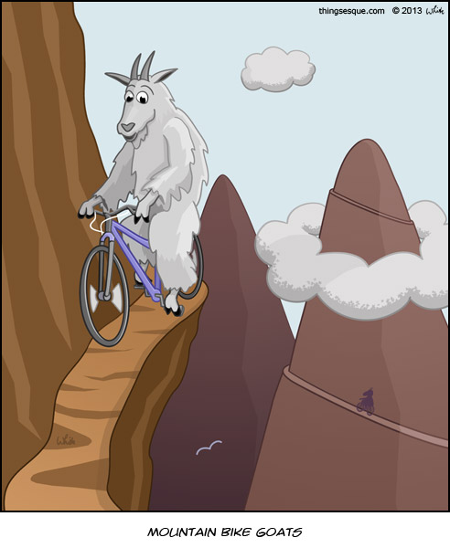 Mountain Bike Goats