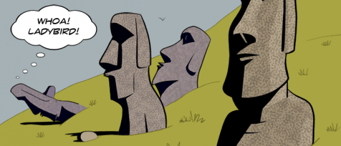 Easter Island Heads Difference Spot