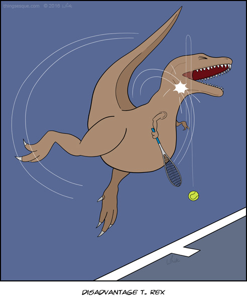 Disadvantage T. Rex