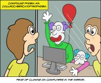 Fear of Clowns on Computers in the Mirror