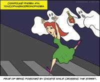 Fear of Being Poisoned by Ghosts While Crossing the Street