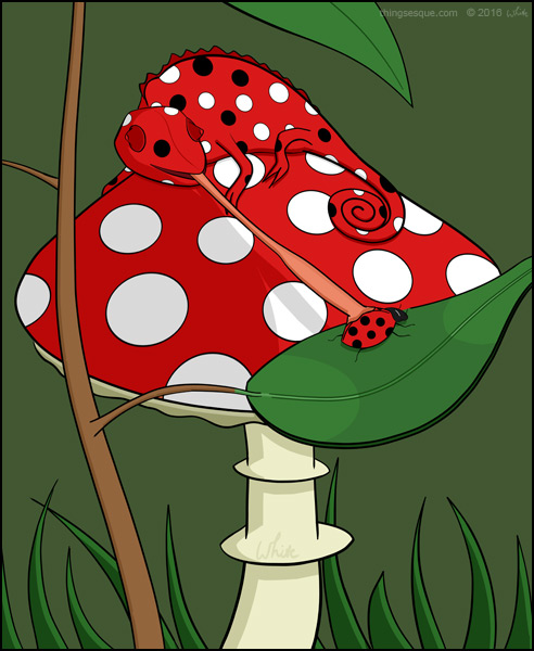 Ladybird Chameleon